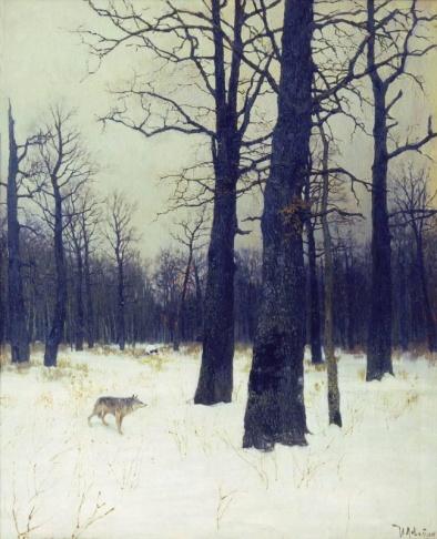 Левитан_Зимой_в_лесу