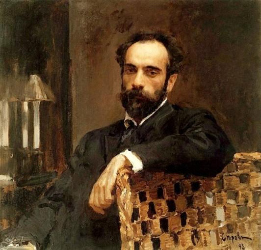 1893_Levitan_-_Porträt_von_Serow
