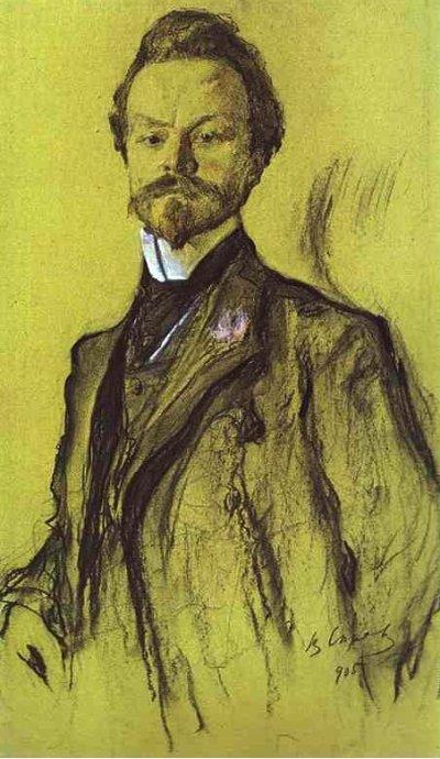 Konstantin_Balmont_by_Valentin_Serov_1905