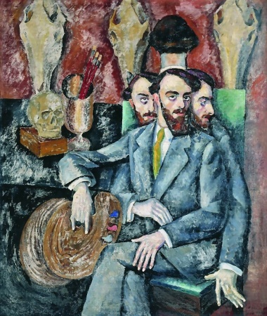 Ilya+Mashkovportrait-of-the-artist-a-milman-1917